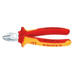 Alicate de corte diagonal knipex 7006-180 mm