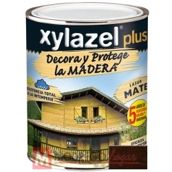 Barniz para madera 375 ml wengue xylazel plus mate