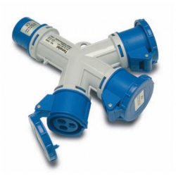 Adaptador industrial ip44 15006