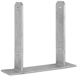 Anclaje poste forma tt 91 x 200 x 180 mm