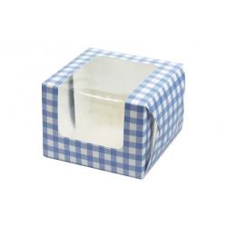 Caja cupcake 10x10x7,5cm/1cavi
