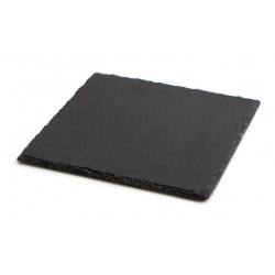 Bandeja ambit pizarra 20x20 cm negro