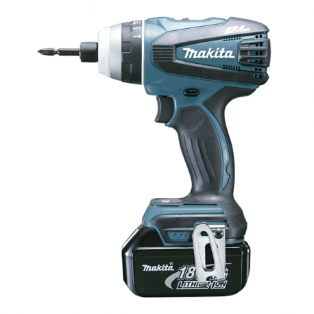 Taladro bateria multifuncion makita dtp141rmj 10.8v 4ah litio-ion