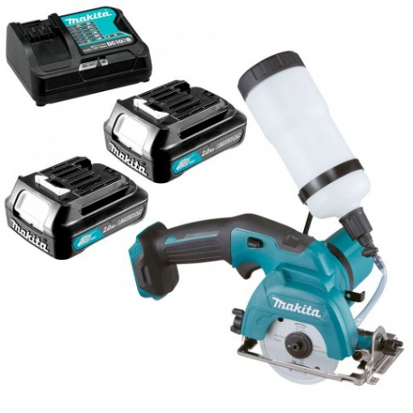 Cortador de diamante makita cc301dsae 85 mm 10.8v litio-ion