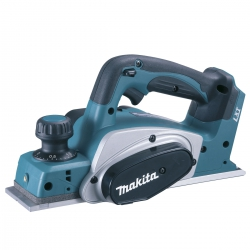Cepillo a bateria makita dkp180z 18v litio-ion