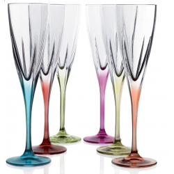Copa + vaso cristal decorado set regalo