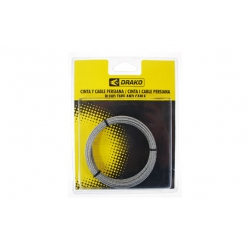 Cable para torno blister drako 2 mm x 6 m