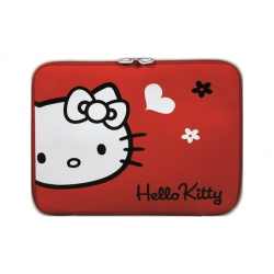 "Funda hello kitty hkne11re 10-12"" rojo"