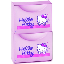 Zapatero de resina terry decorado hello kitty