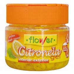 Repelente mosquitos flower gel citronela 125 gr