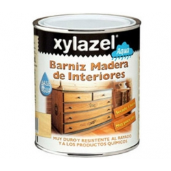 Barniz al agua 750 ml interiores satinado xylazel