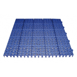Loseta inerflex 33 x 33 azul oscuro