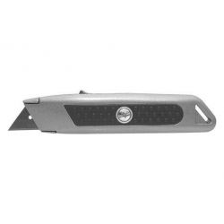 Cutter ironside de seguridad retractil bicomponente metalico