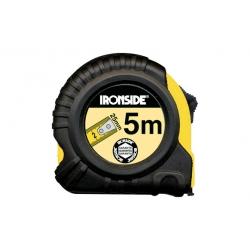 Flexometro abs/caucho con freno 5mx25mm