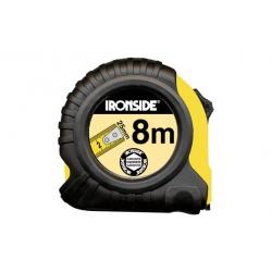 Flexometro abs/caucho con freno 8mx25mm