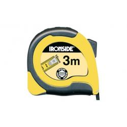 Flexometro abs / bicomponente 3 m x 16 mm con freno cinta impresa a dos caras