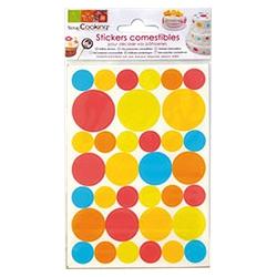 Stickers comestibles scrap punt
