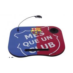 Mesa portatil para pc con luz fc barcelona