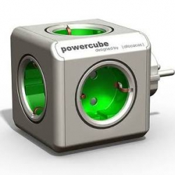 Ladron powercube modulo adicional verde