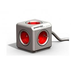 Ladron power cube con alargador rojo
