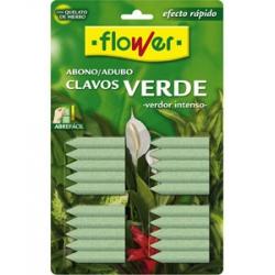 Abono clavos verdes flower 20 unidades
