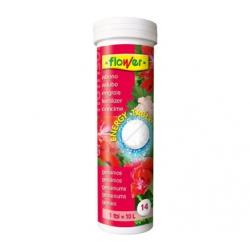 Abono nutrisol flower energy tablet geranios y plantas con flor
