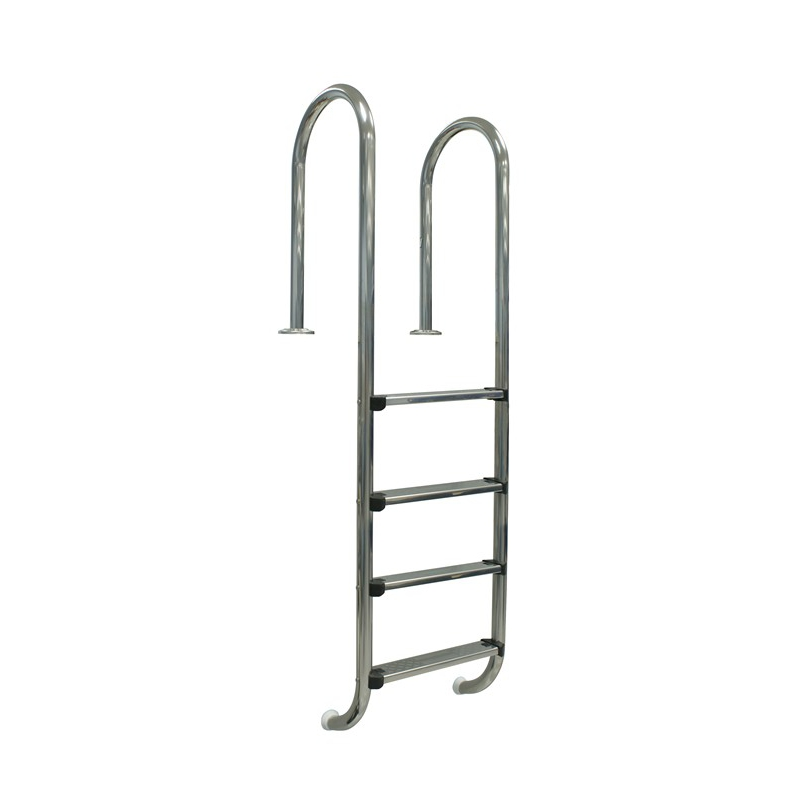 Escalera piscina gre 40274 4 pelda os muro inoxidable for Escaleras para piscinas gre