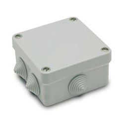 Caja estanca 80x80 cuadrada libre de halogenos