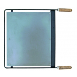 Plancha barbacoa inox 46,5x41 cm imex el zorro 71607