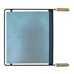 Plancha barbacoa hierro 43,5x41 cm el zorro 71602