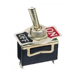 Interruptor unipolar palanca on off