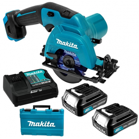 Sierra circular makita hs301dsae 85 mm 10.8v litio-ion