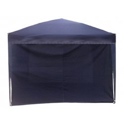 Cortina sin ventana carpa plegable azul 2
