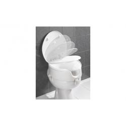Alzador wc con tapa blanco