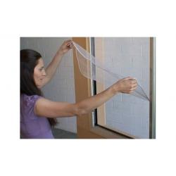 Mosquitera ventana velcro practicable anti calor 150x180