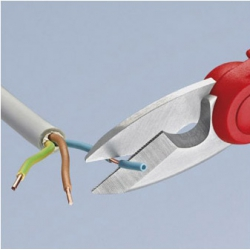 Tijeras electricista knipex 155 mm