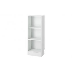 Estanteria basic 107x40x27cm blanco