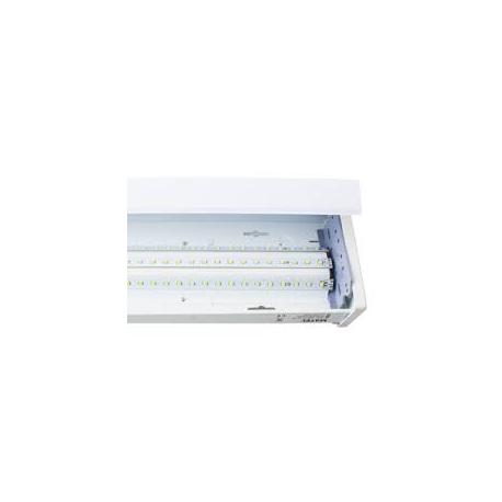 Pantalla led matel cuadrada t8 60 cm 24w luz fria