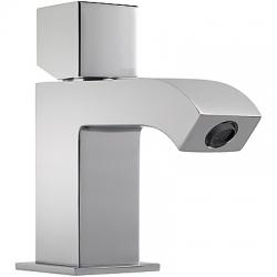 Monomando cuadro tres lavabo aireador volante 133 mm cromado 107103