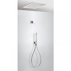 Termostatica kit ducha electronico tres exclusive shower technology cromo 092.865.55