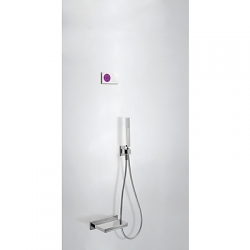 Termostatica kit baÑera electronico tres exclusive shower technology cromo 092.865.56