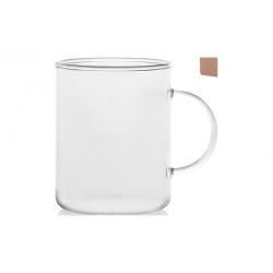 Tazon mug borosilicato con asa