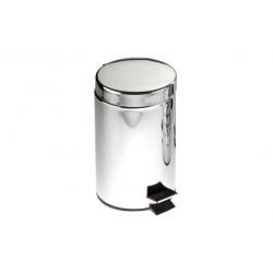 Cubo de baño wenko con pedal cromo brillante 3l