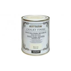 Pintura efecto tiza chalky xylazel 750ml-oliva