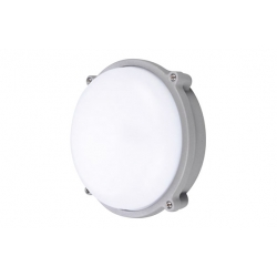 Aplique led redondo 20w ip65 1000 lm ø25 cm