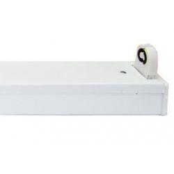 Regleta led directa matel para 2 tubos led 60cm