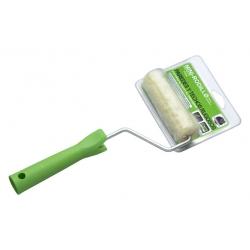 Mini rodillo hilo verde 11cm + varilla