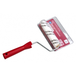 Minirodillo microfibra 6cm + varilla
