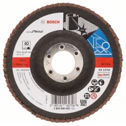 Disco corte inox bosch 115 x 1 mm 10 unidades