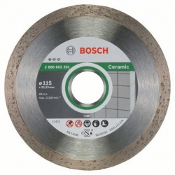 Disco de diamante bosch ceramica tronzador 115 mm